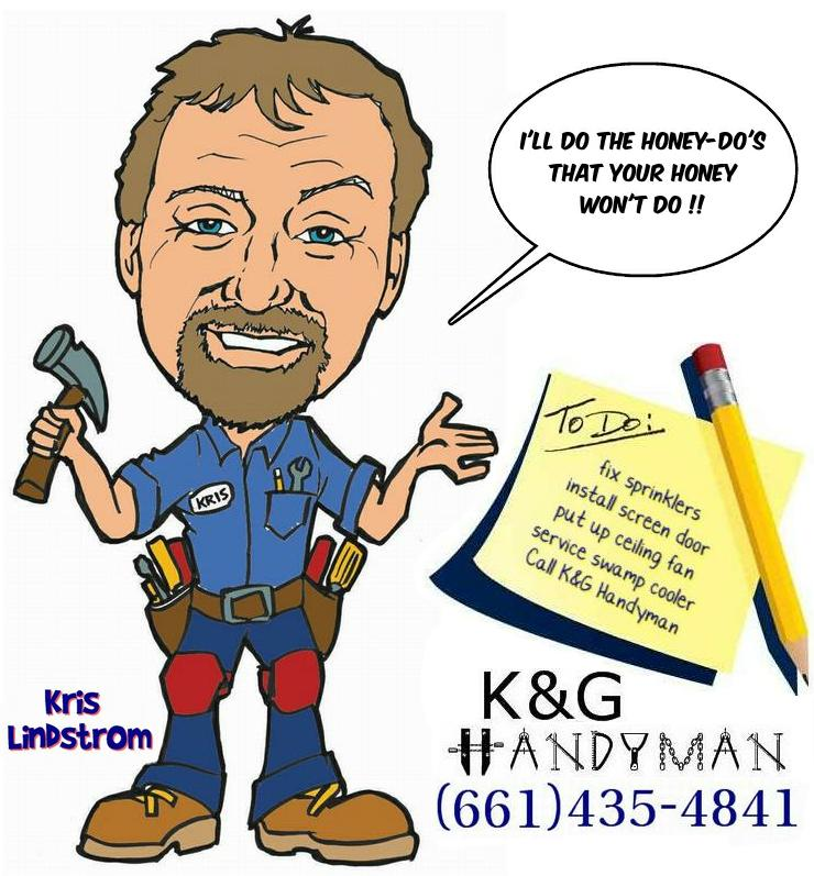 K Amp G Handyman B Amp D Appliance Repair Palmdale Ca Lancaster