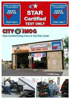 Smog Check Test Only Center Palmdale, CA
