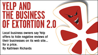 Small Business Owners upset with Yelp
