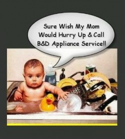 Dishwasher Tips For Cleaner Dishes from B&D Appliance Repair Service